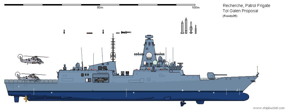 leda class frigate